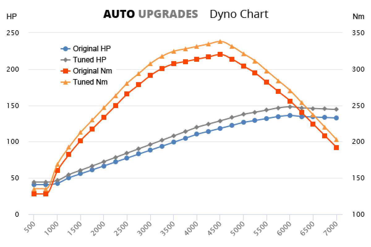 2000-2006 2.0 +12HP +18Nm